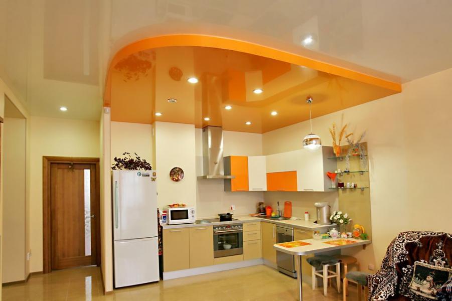 купить натяжные потолки для кухни в минске