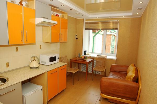 купить натяжные потолки для кухни на заказ