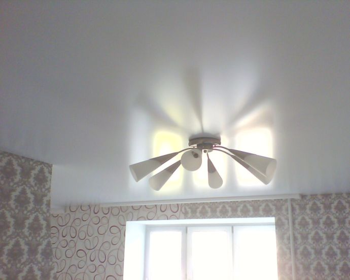 купить сатиновый потолок