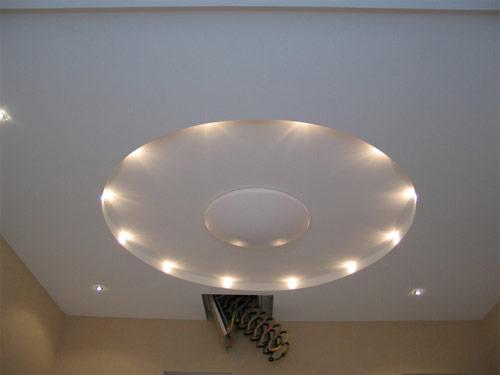 купить многоуровневый натяжной потолок