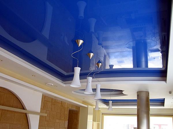 глянцевые натяжные потолки минск